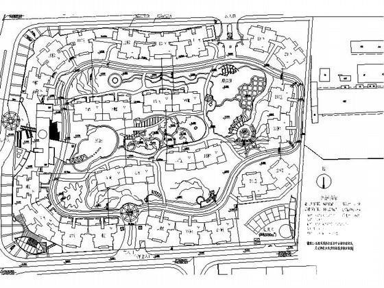居住区规划总平面 - 2