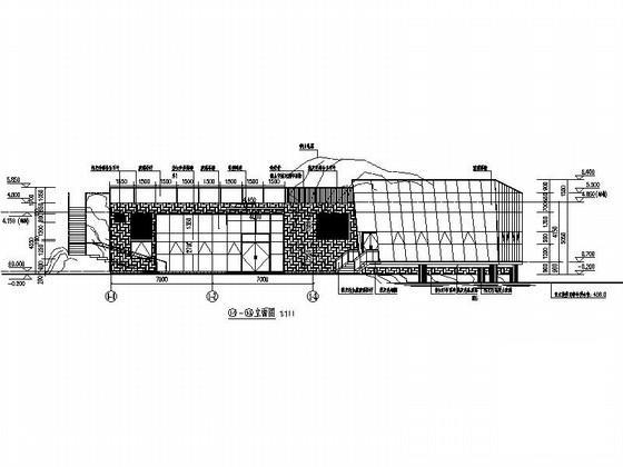 茶室设计立面图 - 3