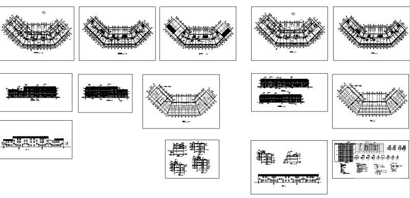 中式仿古建筑设计 - 5