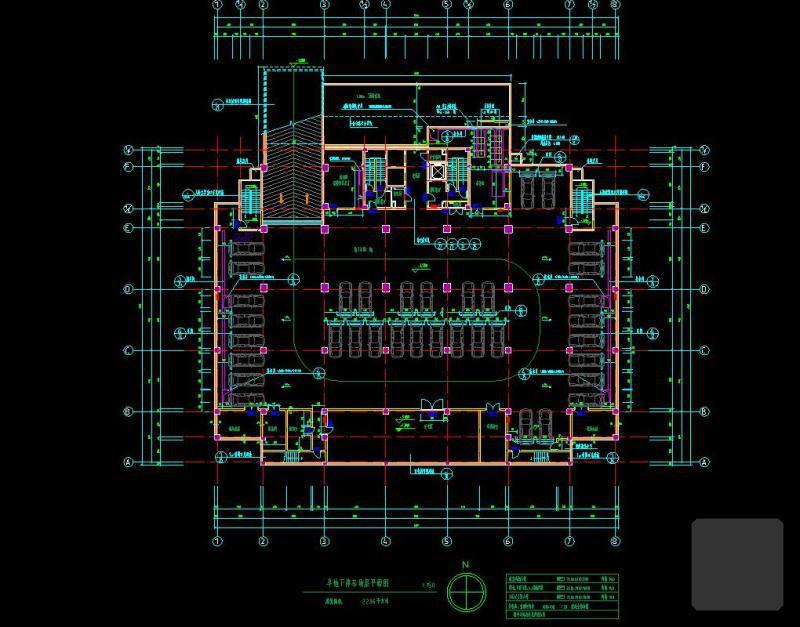 办公楼底层平面图 - 2