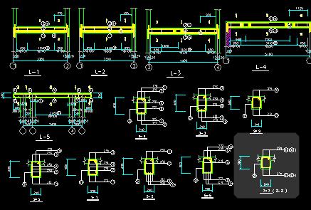 钢筋混凝土结构图 - 1