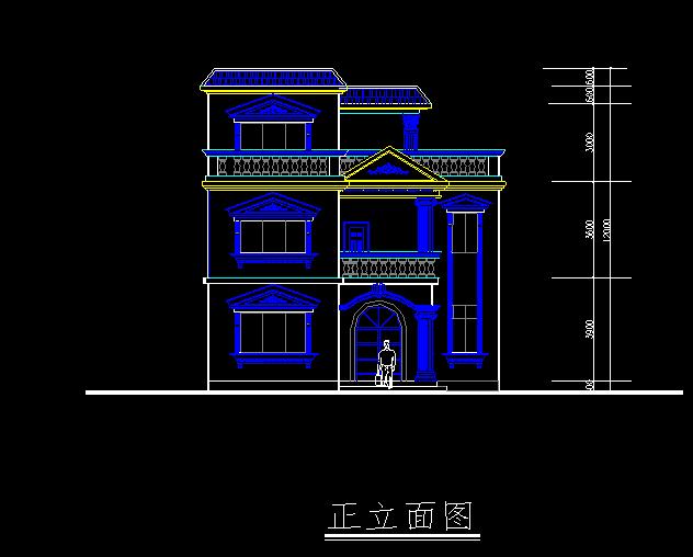 别墅设计结构图纸 - 3