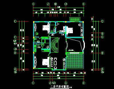 别墅设计结构图纸 - 6