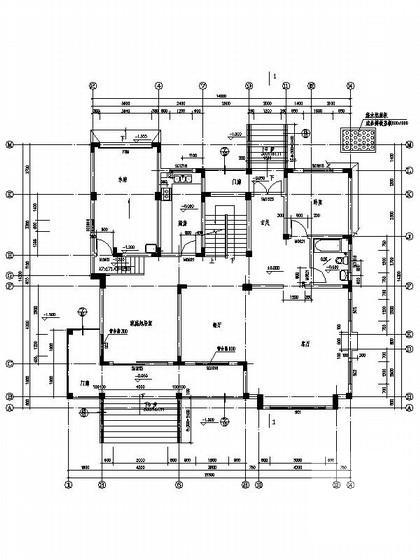 别墅施工图带效果图 - 1