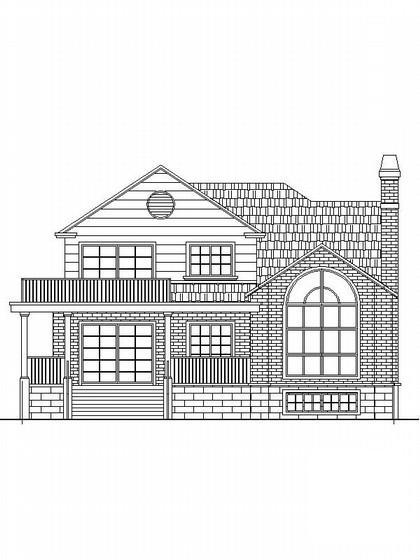 别墅施工图带效果图 - 2