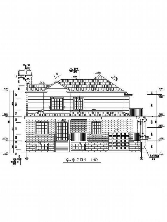别墅施工图带效果图 - 4
