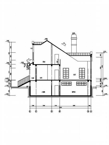 别墅施工图带效果图 - 5