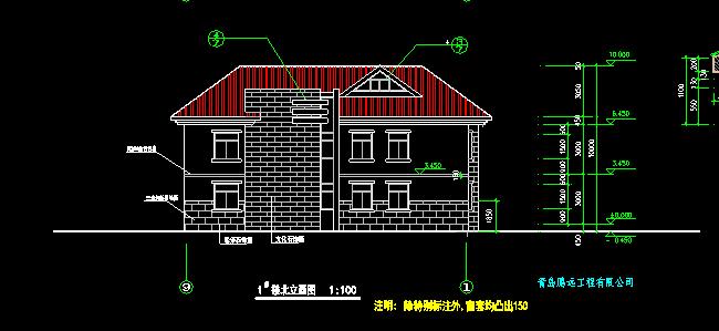 中式别墅建筑施工图 - 2