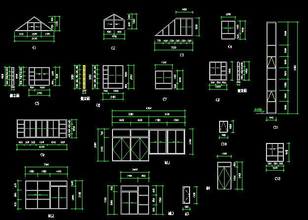 中式别墅建筑施工图 - 5