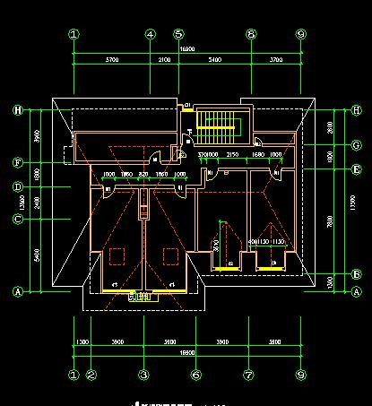 中式别墅建筑施工图 - 6