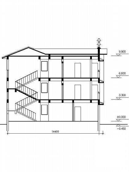 别墅设计图纸效果图 - 1