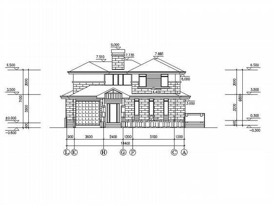 农村设计图纸效果图 - 5