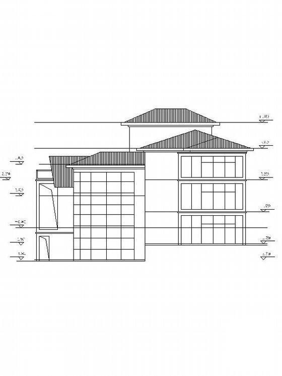 别墅设计图纸效果图 - 2