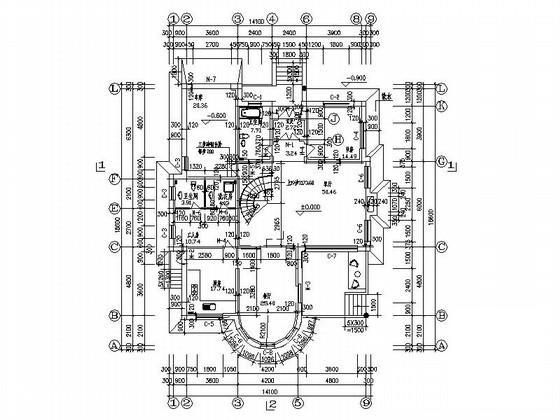 别墅建筑设计效果图 - 3