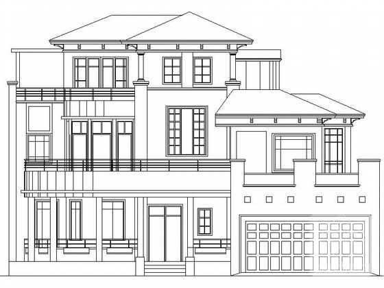 别墅入口设计 - 2