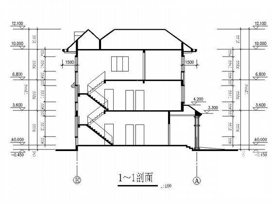 欧式别墅入口设计 - 1