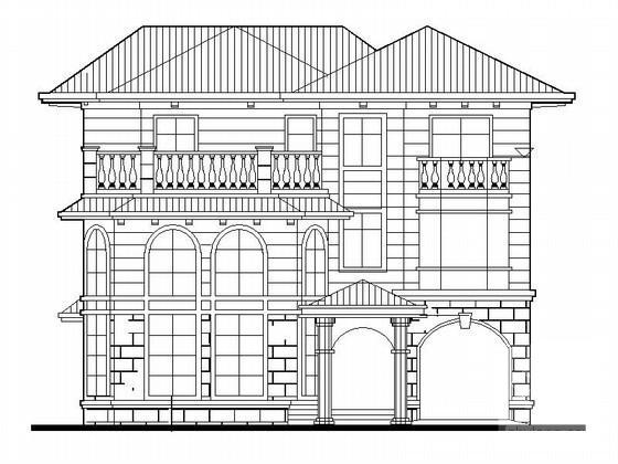欧式别墅入口设计 - 4