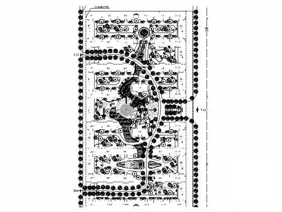 居住区规划设计图纸 - 1