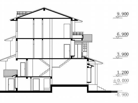 中式双拼别墅 - 4