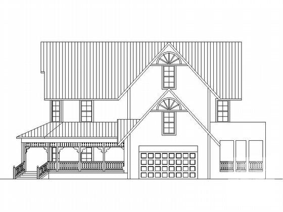 风格别墅建筑方案图 - 2