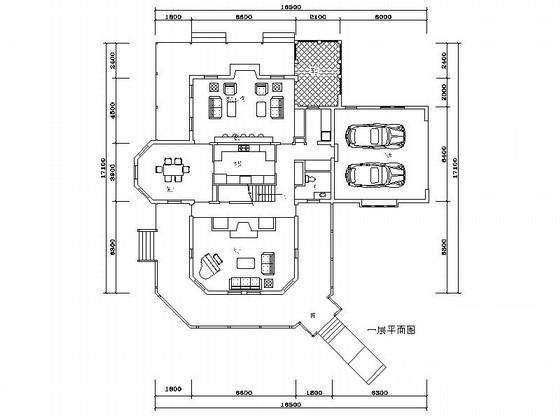 风格别墅建筑方案图 - 4