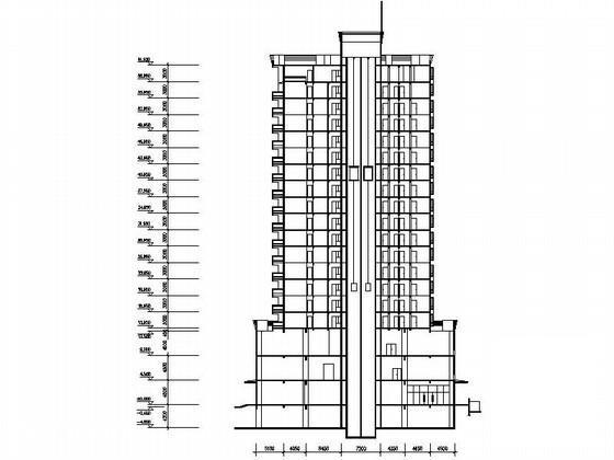 居住区规划总平面图 - 1