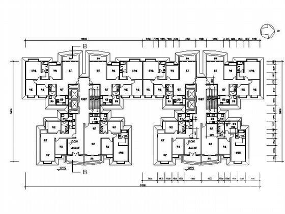 居住区规划总平面图 - 2