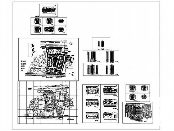 居住区规划总平面图 - 3