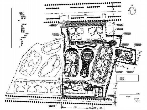 居住区规划总平面图 - 4