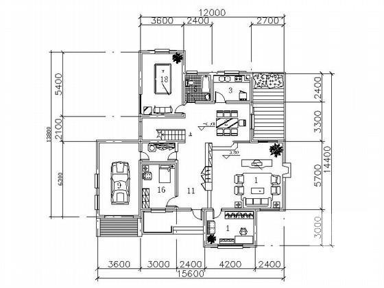 别墅入口设计 - 3