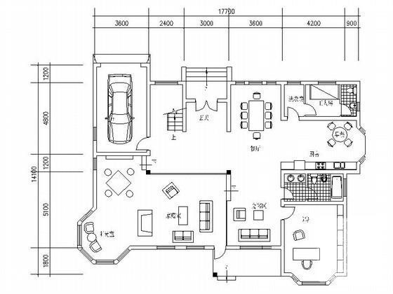 别墅入户设计 - 1