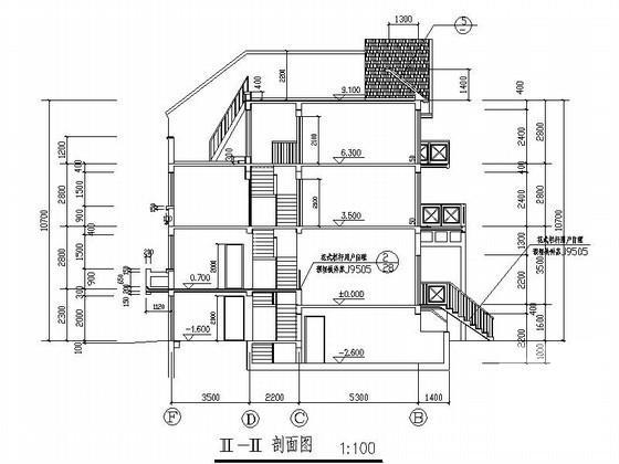 联排别墅平面布置图 - 2