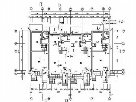 联排别墅平面布置图 - 3