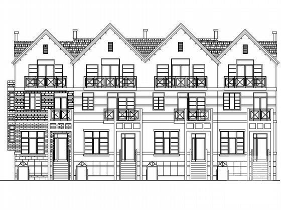 联排别墅平面布置图 - 4