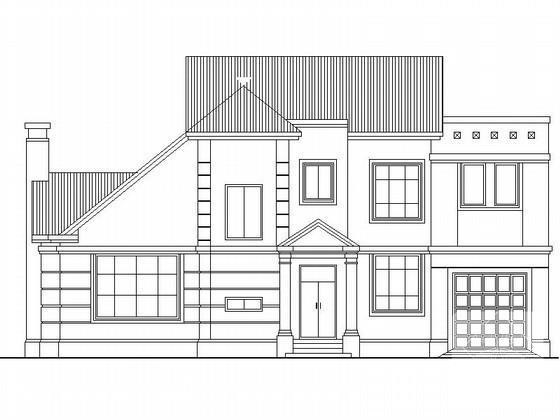 别墅坡屋顶设计 - 1