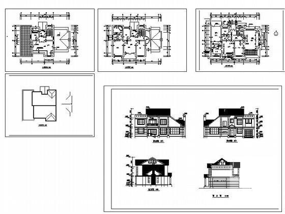 别墅坡屋顶设计 - 2