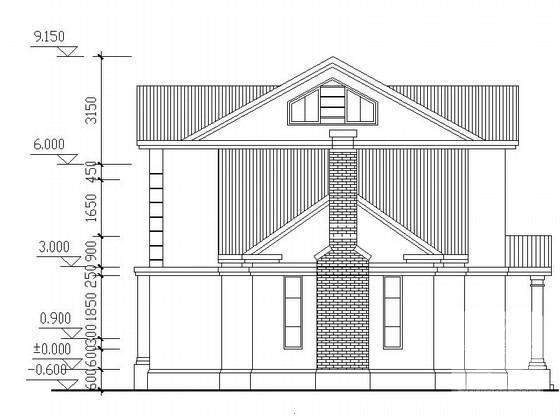 别墅坡屋顶设计 - 3