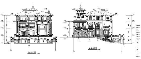 建筑图纸样板 - 1