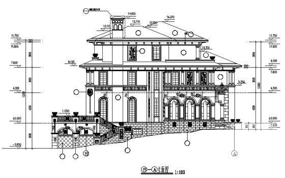 样板房设计施工图 - 4