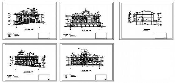 建筑图纸样板 - 5