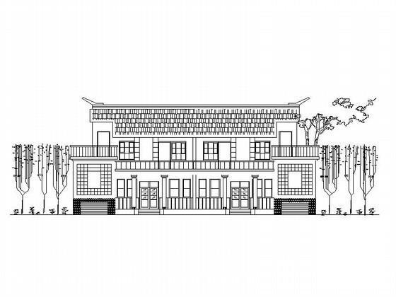 中式别墅方案 - 2