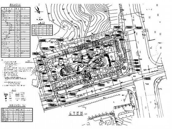 [现代风格]华庭居住区规划CAD施工图纸