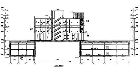 住宅小区住宅楼结构 - 1
