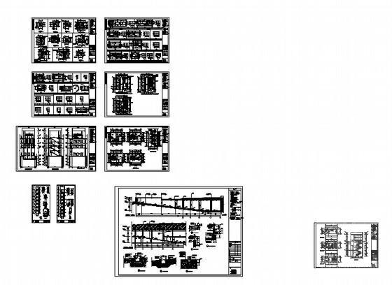 住宅小区住宅楼结构 - 3