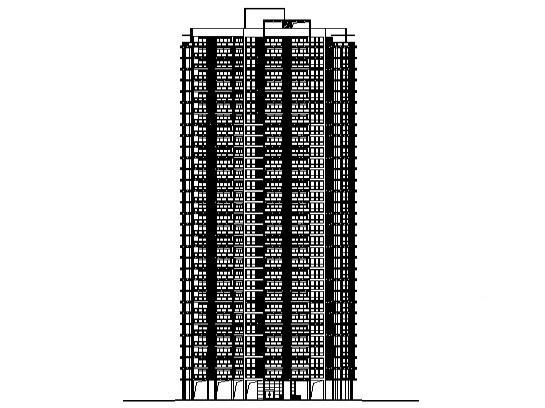 住宅小区住宅楼结构 - 4