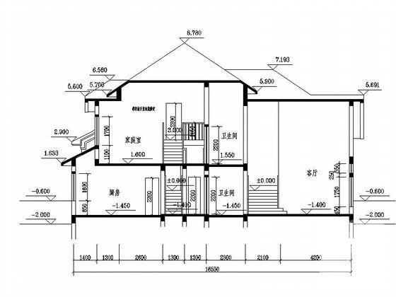 多层住宅别墅建筑 - 5