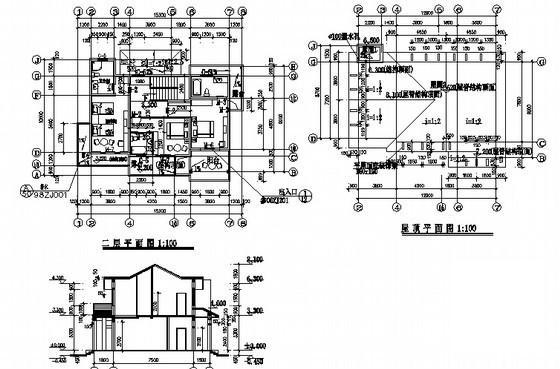 欧式别墅建筑效果图 - 2