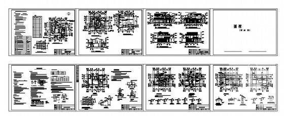 欧式别墅建筑效果图 - 3