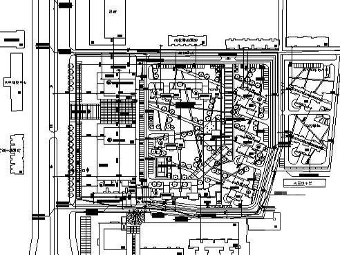 城邦居住小区规划建筑设计CAD图纸