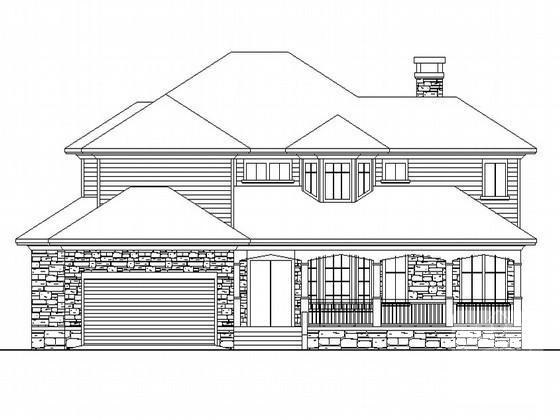 别墅设计结构图纸 - 1